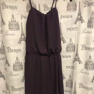 Express purple dress size small